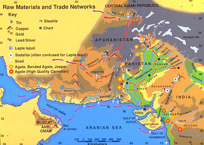 Trading system of harappan civilization