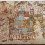 fleet_fresco_Minoan_village